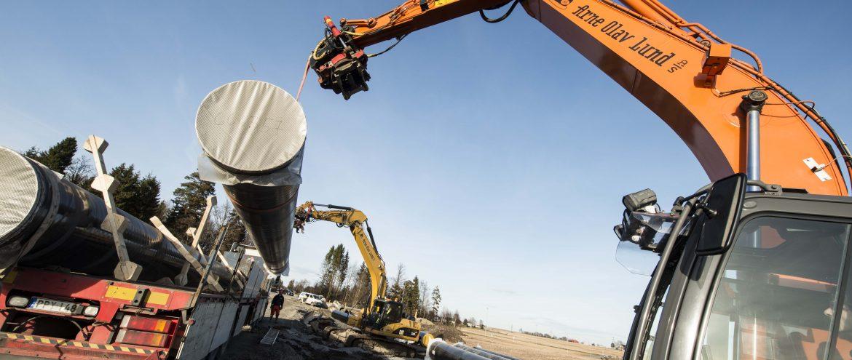 Vestfold Vann legger ny hovedvannledning på Eik
