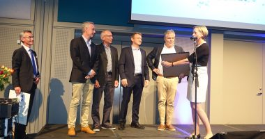 Norsk Vanns bærekraftpris 2017 tildelt Tønsberg kommune og Vestfold Vann